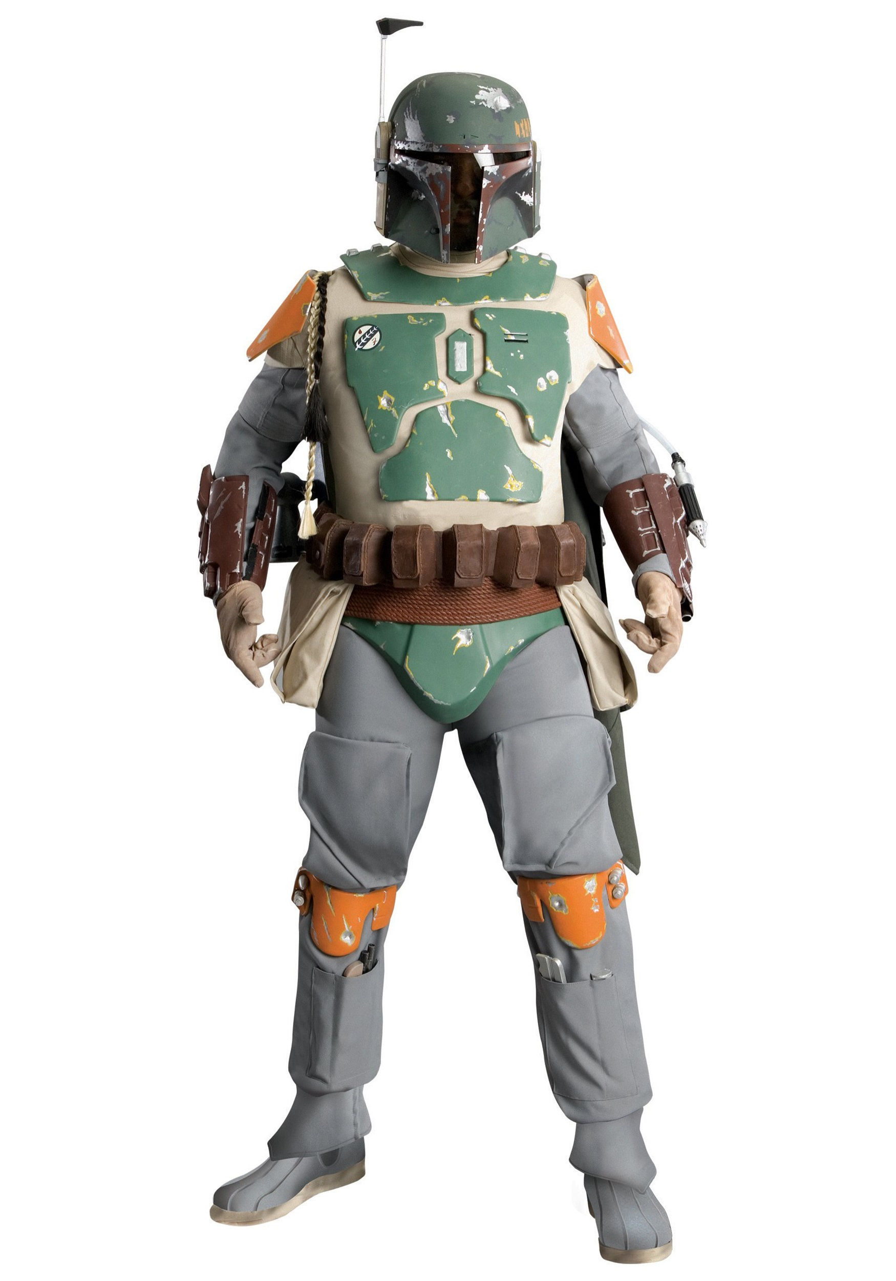 Supreme Edition Boba Fett Costume  sc 1 st  Buy Star Wars Costumes & Supreme Edition Boba Fett Costume - Authentic Star Wars Replica Costumes
