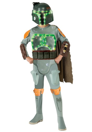 Deluxe Light Up Boba Fett Kids Costume