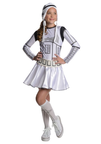 Tween Girls Stormtrooper Costume