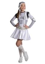 Tween Girls Stormtrooper Costume