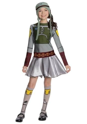 Girls Boba Fett Costume Dress