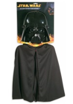 Child Darth Vader Mask and Cape
