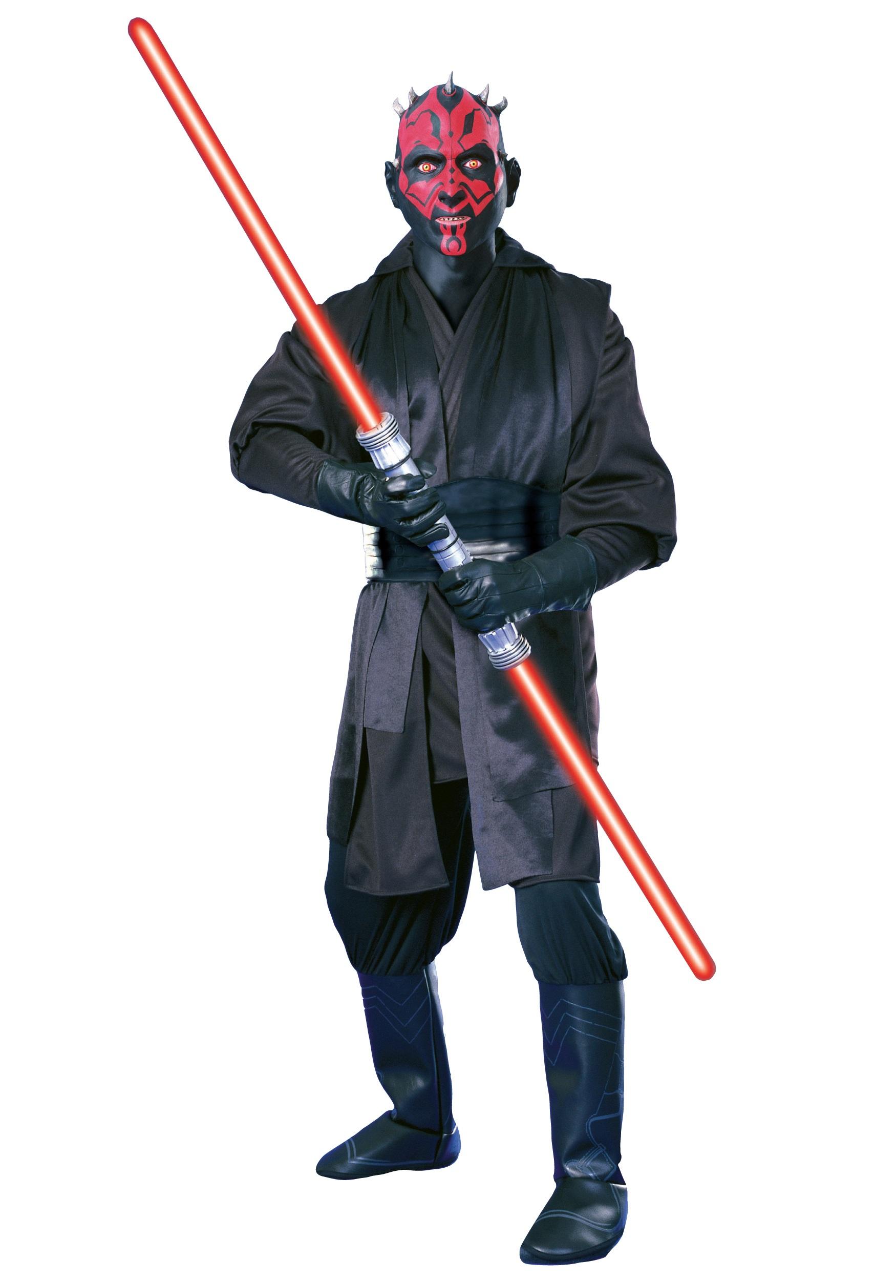 Super Deluxe Adult Darth Maul Costume - Star Wars Halloween Costume
