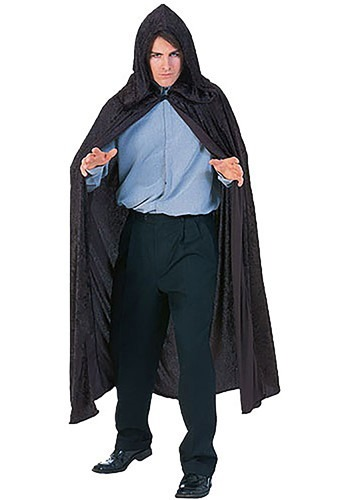 Deluxe Velvet Hooded Cloak