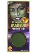 Green Alien Face Makeup