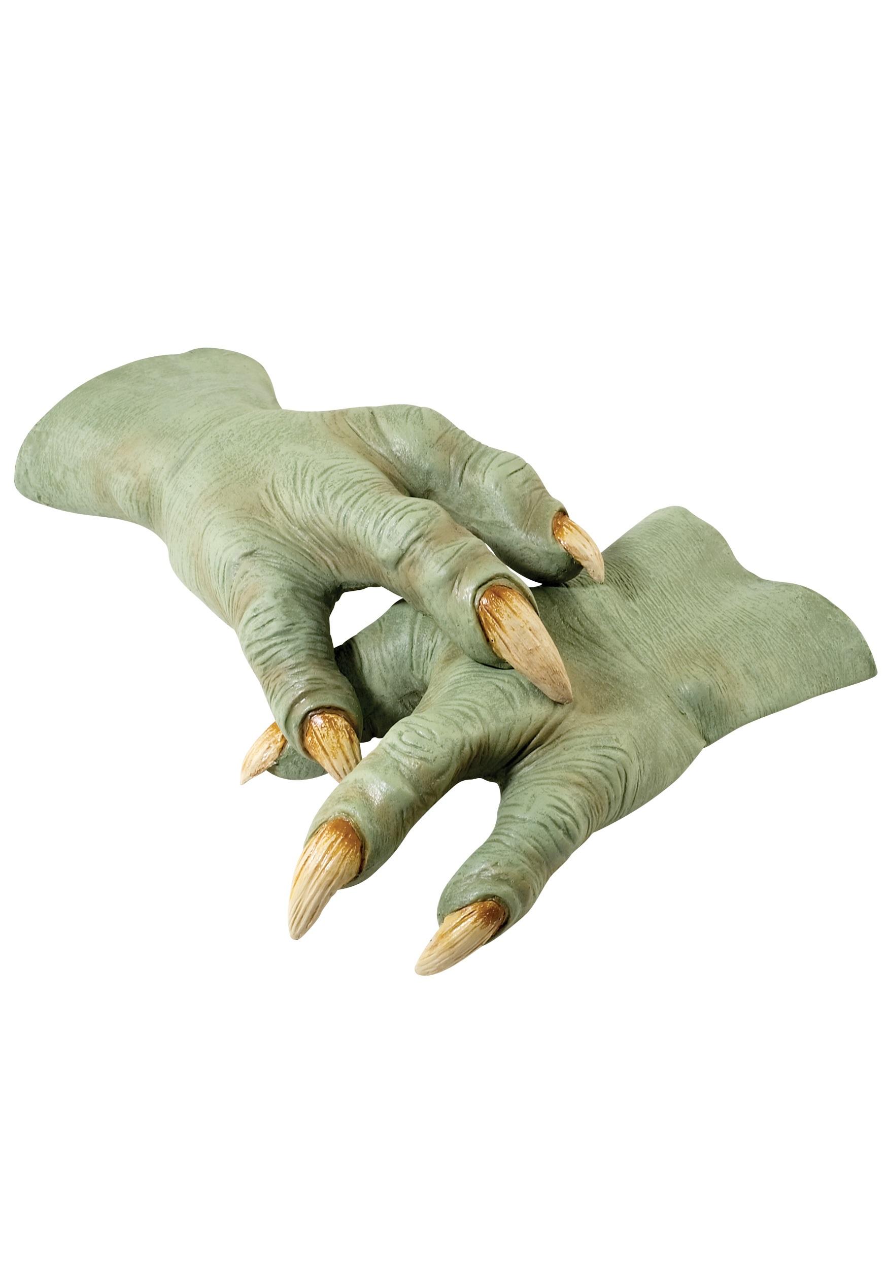 Yoda Hands Official Star Wars