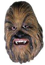 Chewbacca 3/4 Vinyl Mask