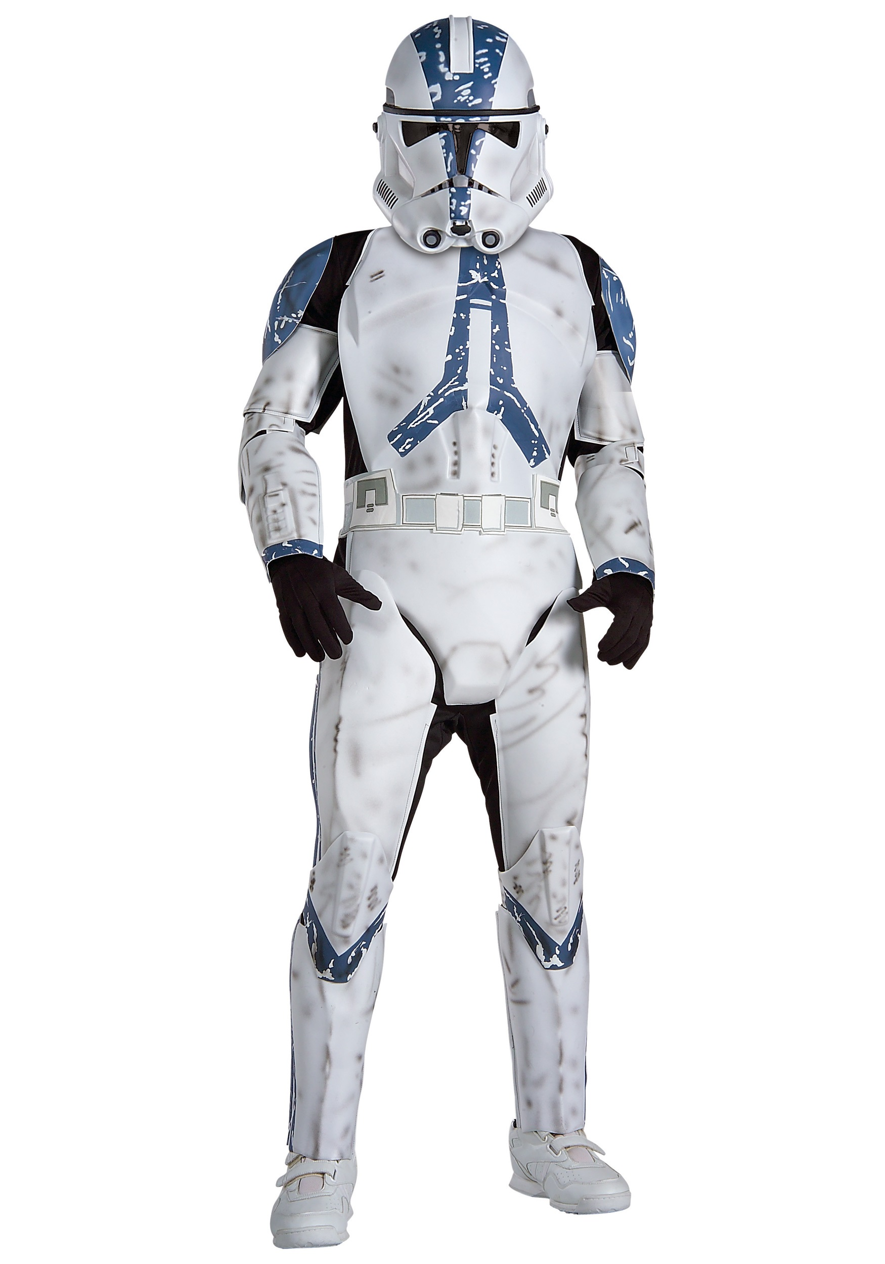 child deluxe clone trooper costume episode 3 clone trooper costume. Black Bedroom Furniture Sets. Home Design Ideas