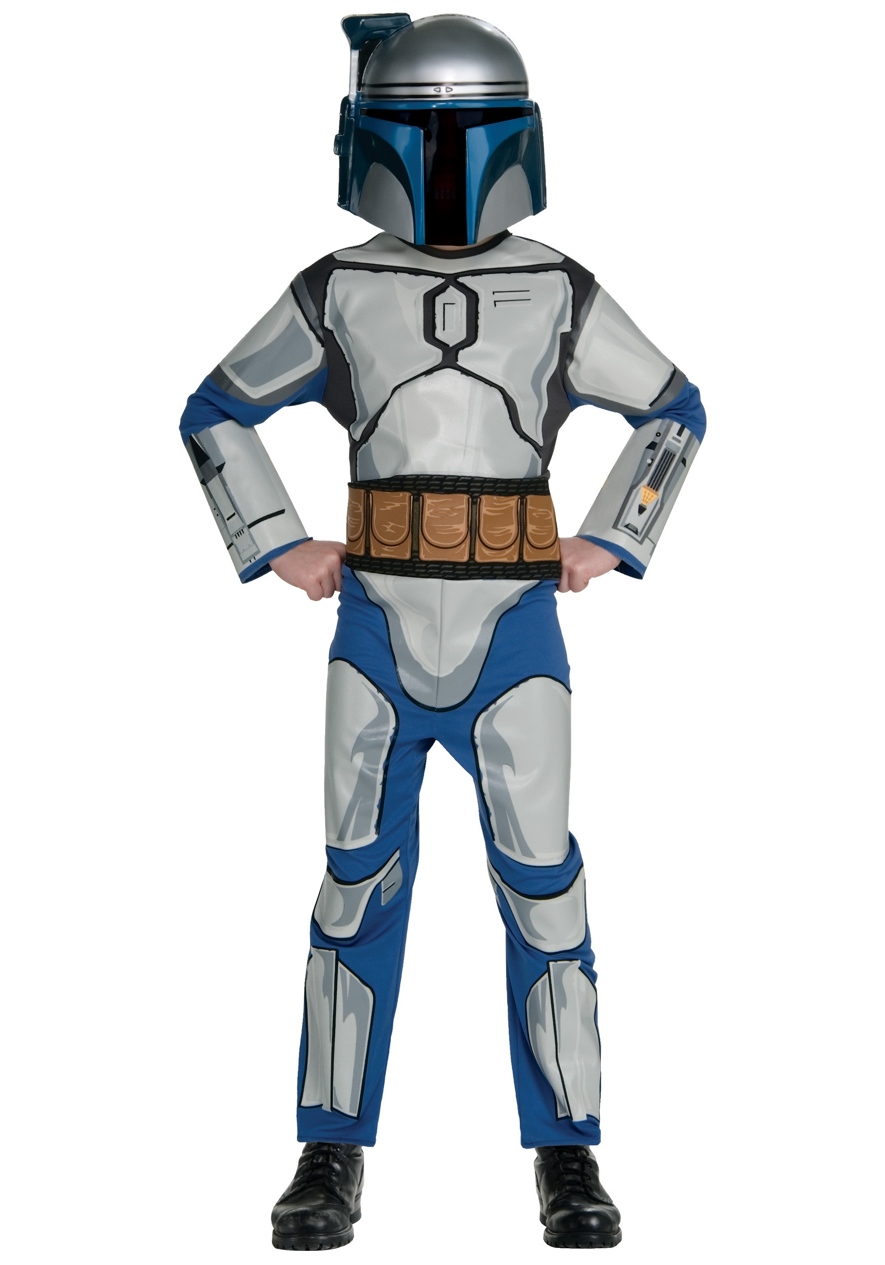 Star Wars Halloween Costumes.Child Jango Fett Costume