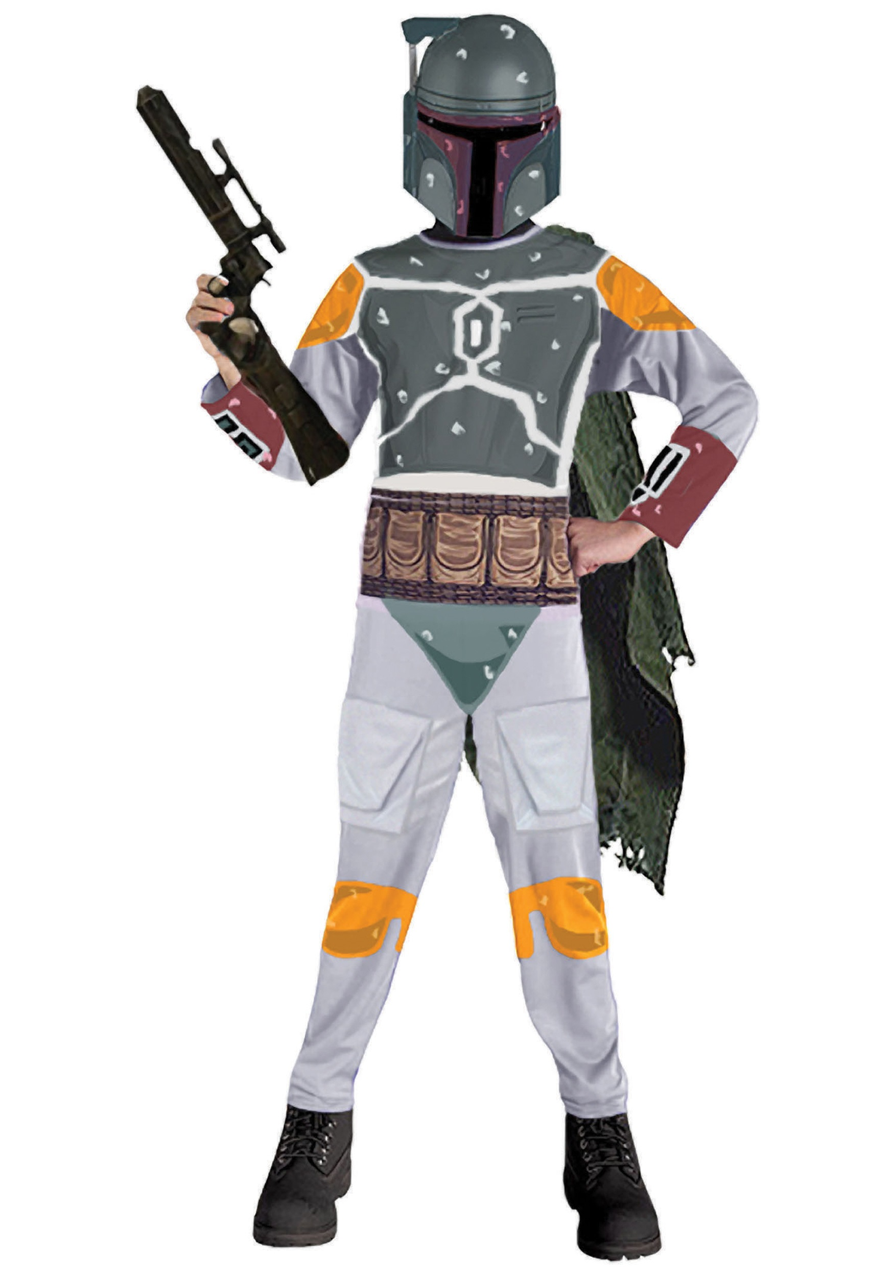 child boba fett costume cheap star wars costumes. Black Bedroom Furniture Sets. Home Design Ideas