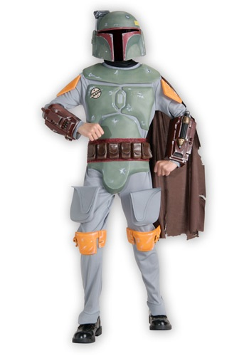 Child Deluxe Boba Fett Costume