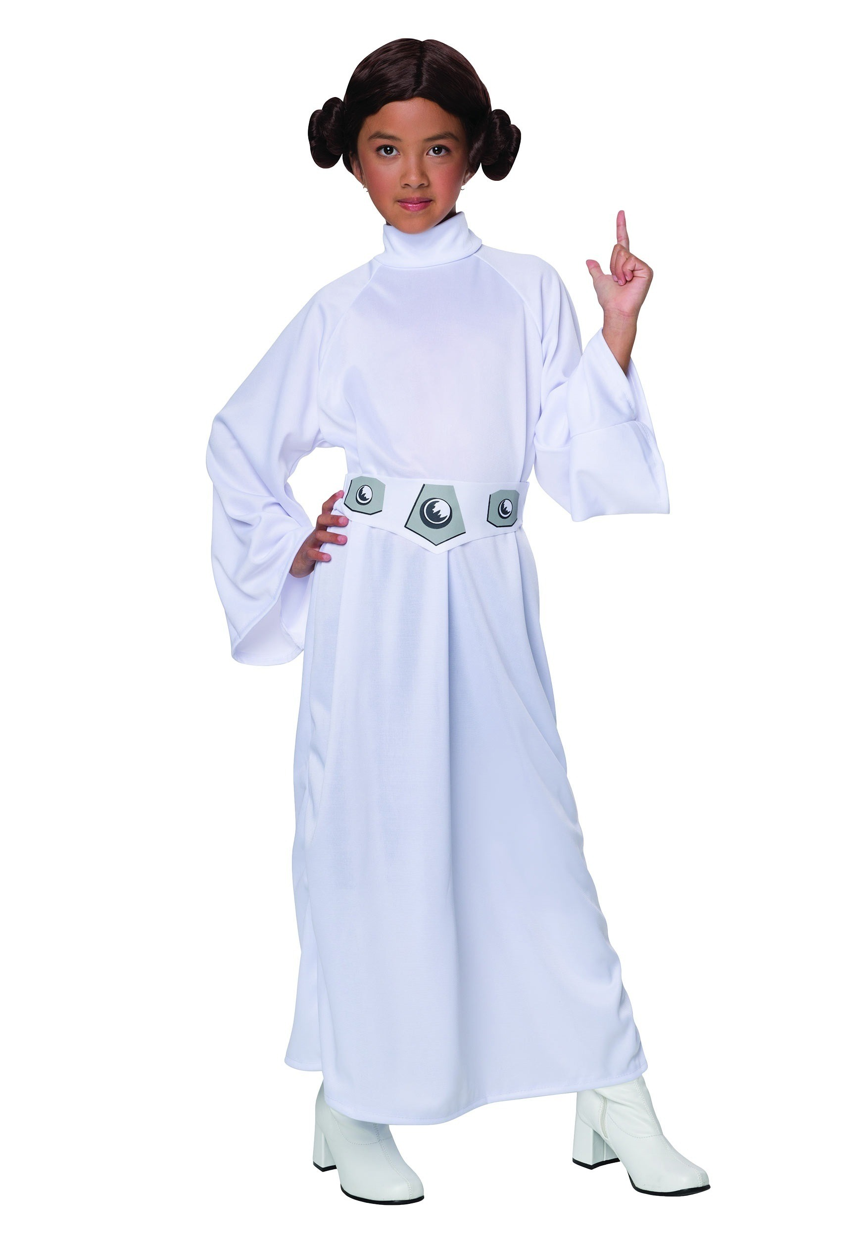 Child Princess Leia Costume  sc 1 st  Buy Star Wars Costumes & Child Princess Leia Costume - Girls Star Wars Costumes