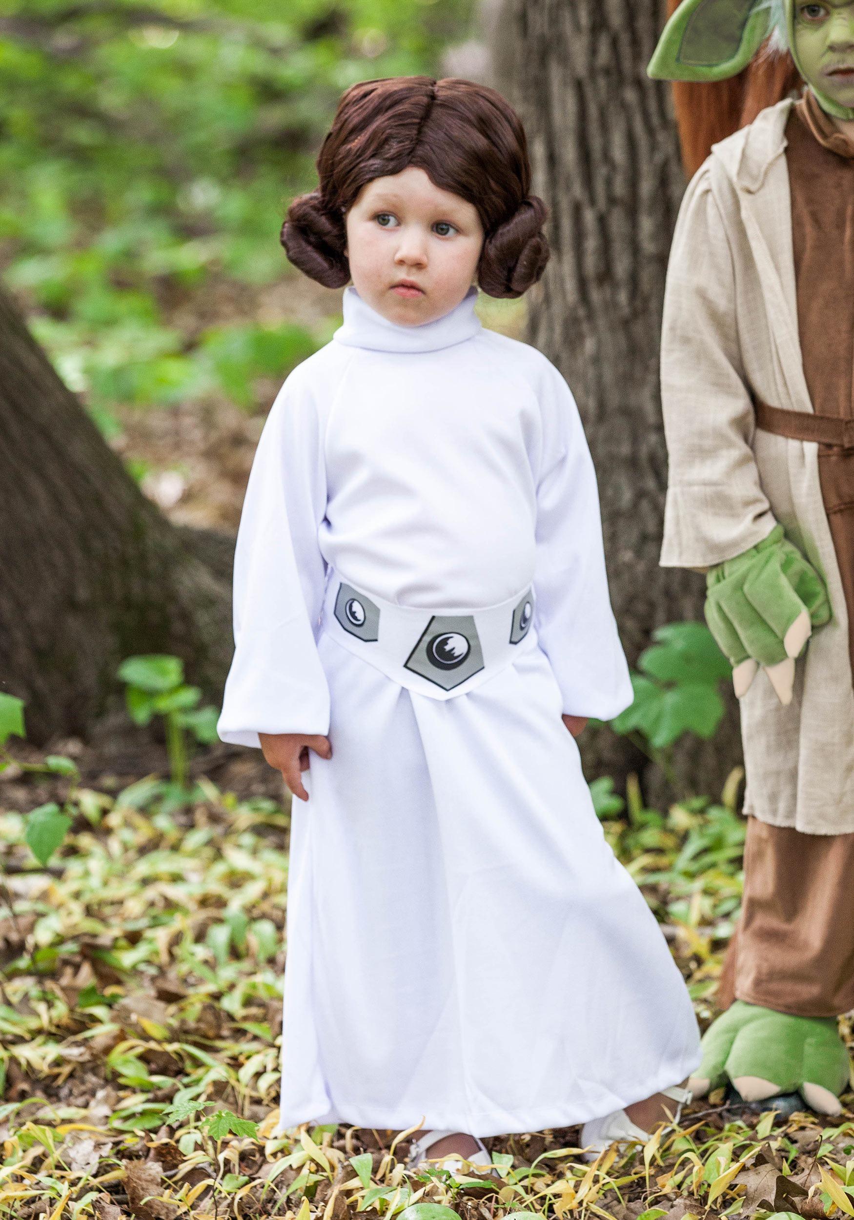 child princess leia costume girls star wars costumes. Black Bedroom Furniture Sets. Home Design Ideas