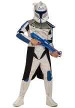Child Blue Clone Trooper Leader Rex Costume
