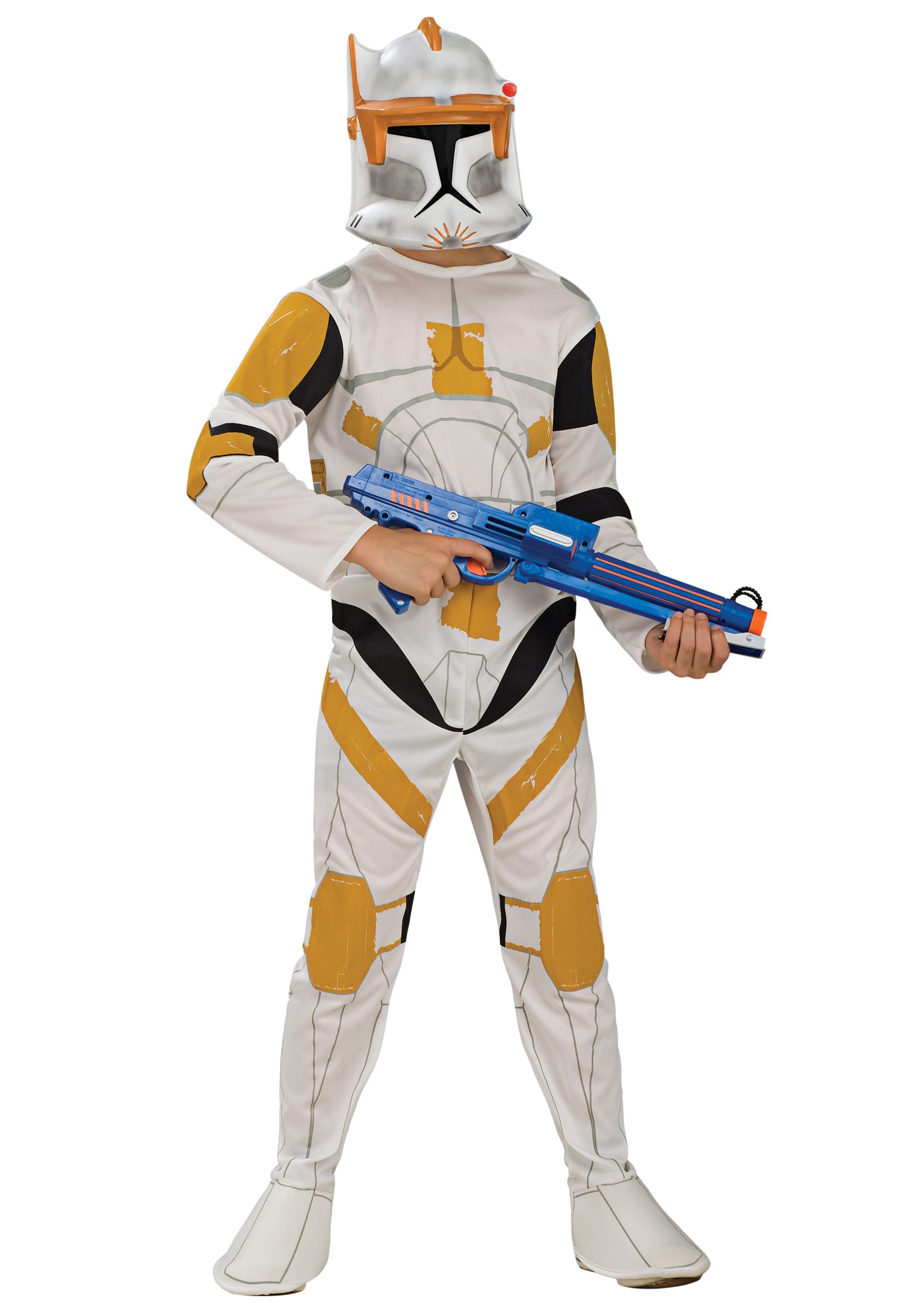 Star Wars Halloween Costumes.Child Clone Trooper Commander Cody Costume