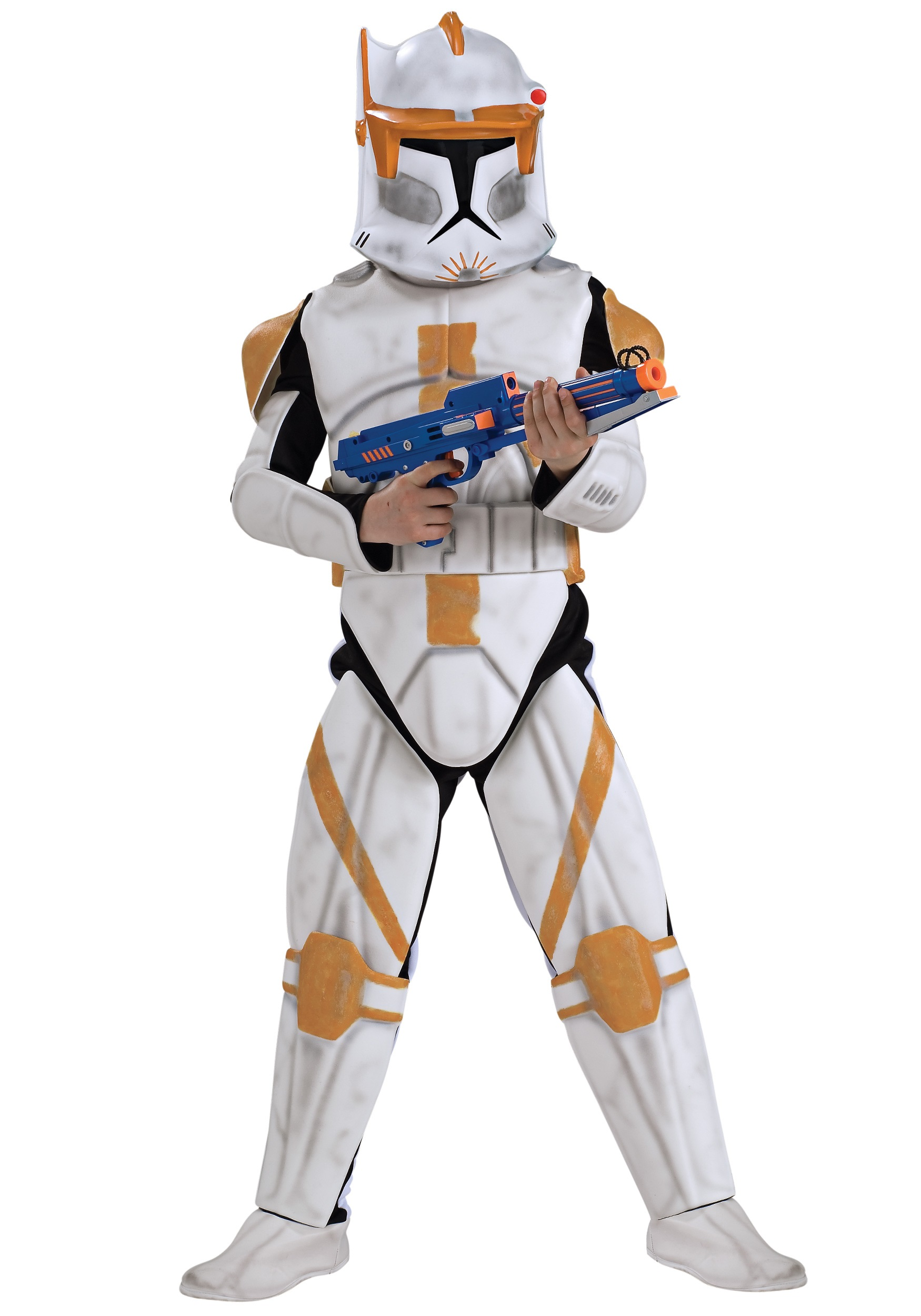 Boys Child STAR WARS Clone Trooper Costume Outfit