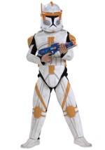 Deluxe Kids Clone Trooper Commander Cody Costume