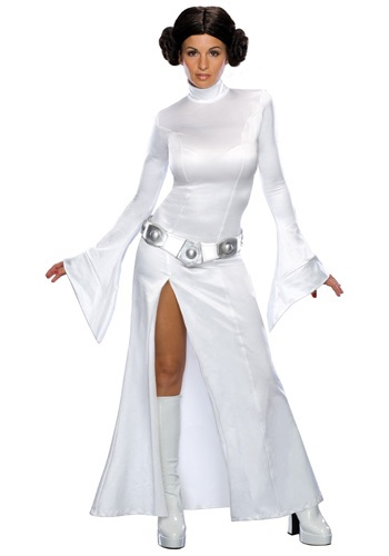 Adult Princess Leia White Dress