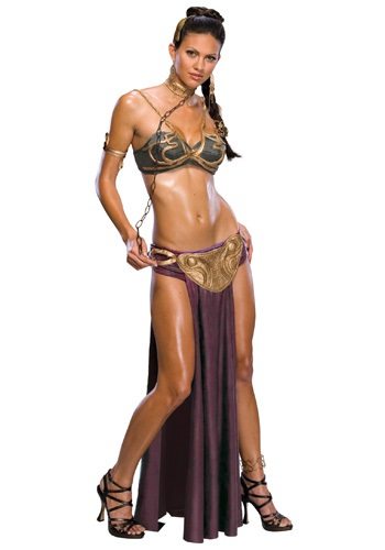 Adult Princess Leia Slave Costume