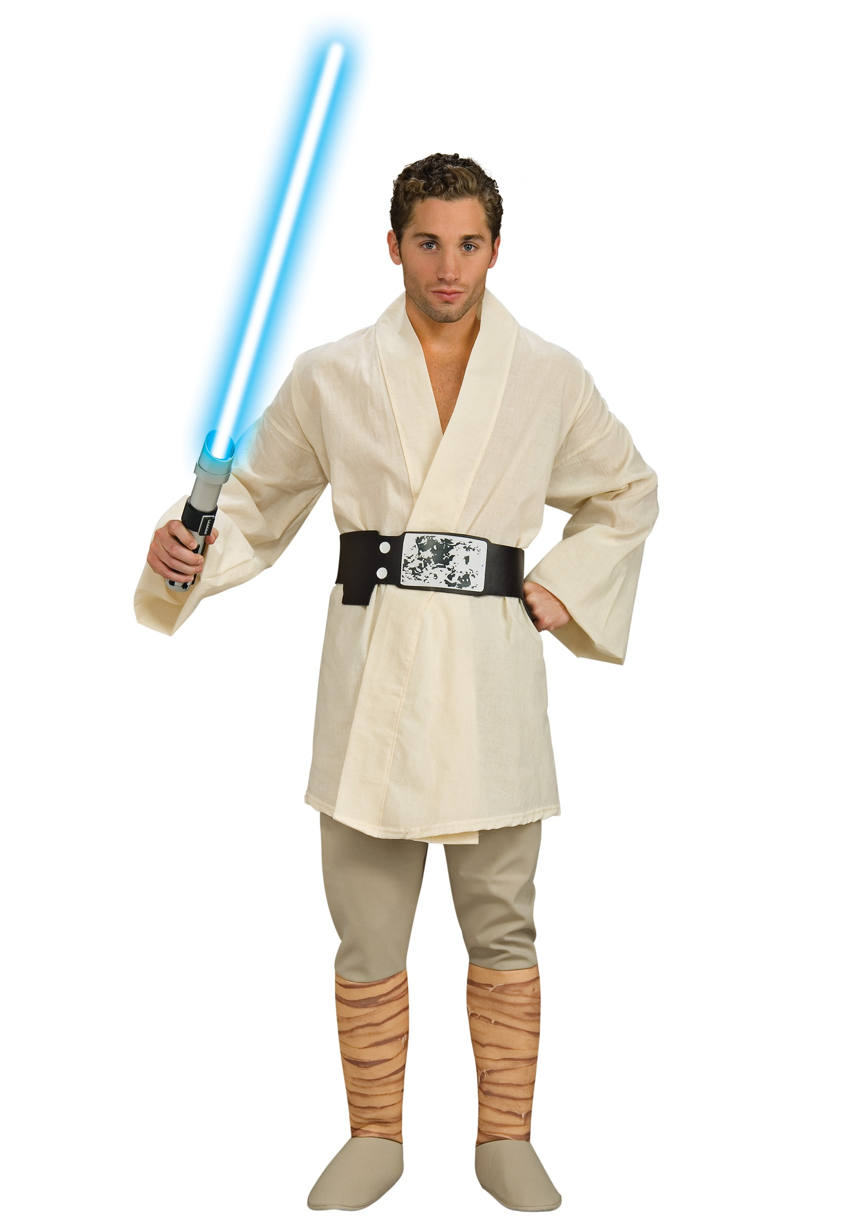 deluxe luke skywalker costume star wars halloween costume. Black Bedroom Furniture Sets. Home Design Ideas