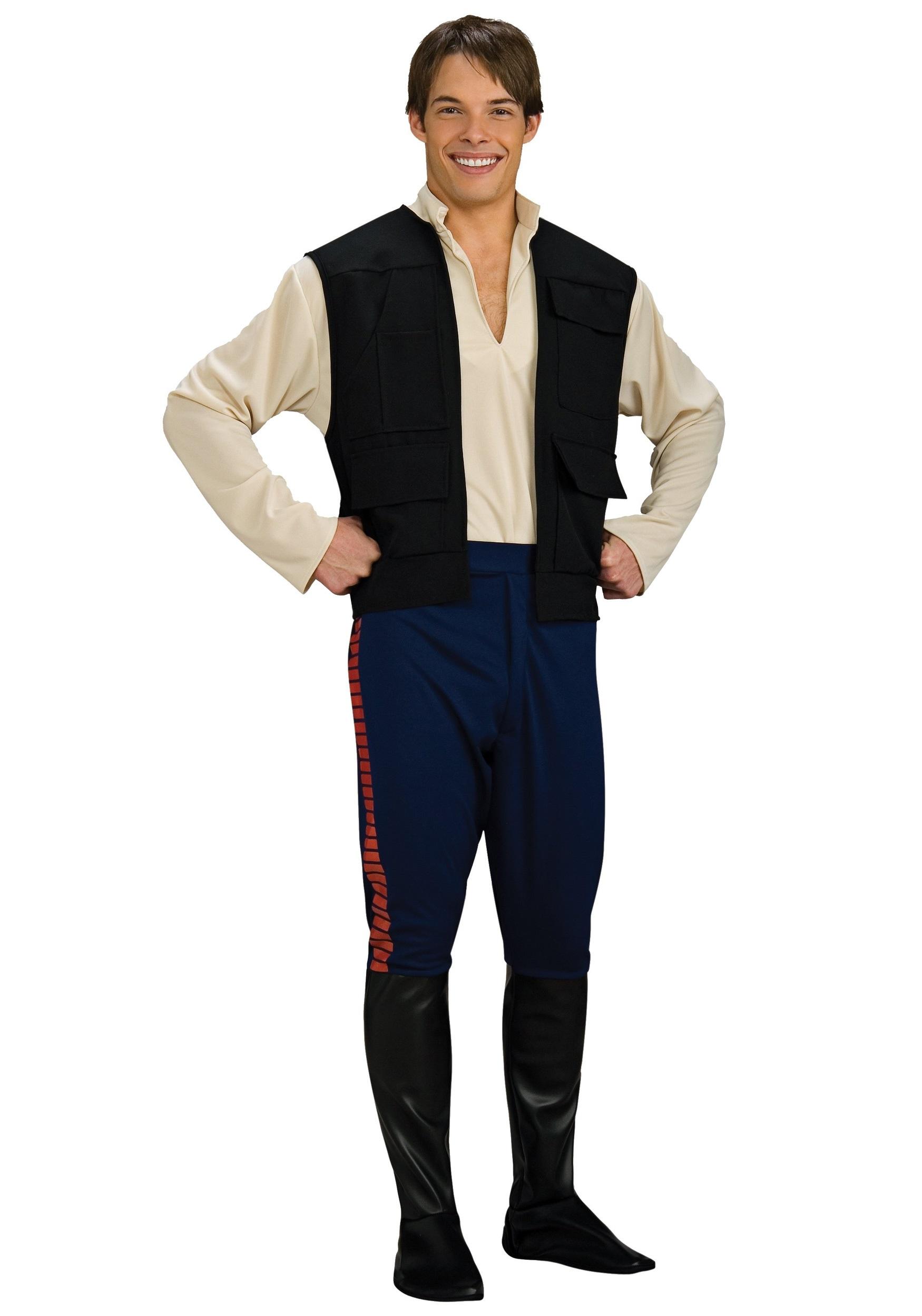 Deluxe Adult Han Solo Costume - Halloween Star Wars 1fcbaffff03b4