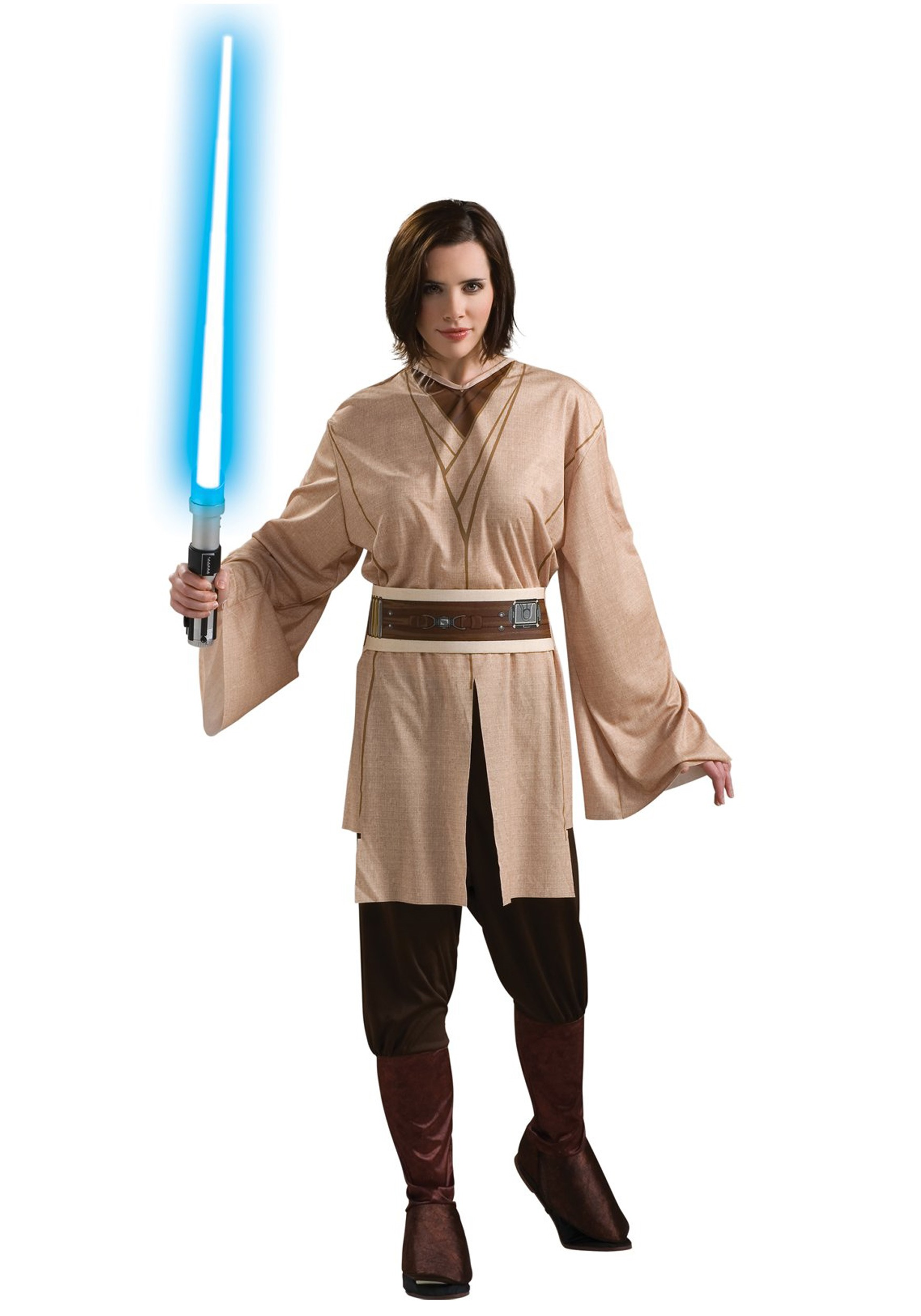 female jedi costume adult womens star wars jedi costume. Black Bedroom Furniture Sets. Home Design Ideas
